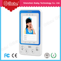 Ibaby credit card phone student ID card phone mini gps phone with trackng system