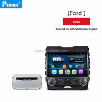 PENHUI Android 4.4 Quad core Ca DVD for Ford Edge 2015 low version Support RDS+ BT+Wifi+DVR+TPMS + 3G