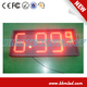 "Waterproof IP65 12"" red color price sign led gas station"