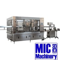 MIC 24-24-8 Micmachinery water bottling plant price bottled water plant plastic water bottle manufacturing plant