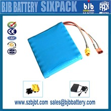Customized 10s3p18650 lithium ion 36v 9Ah 10Ah lifepo4 battery pack for electric scooter
