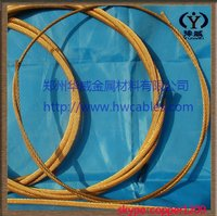 High speed railway contact wire