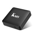 Best android tv set top box KM5 remote control amlogic s905 android quad core tv box 4k ott smart tv mini dv video player small