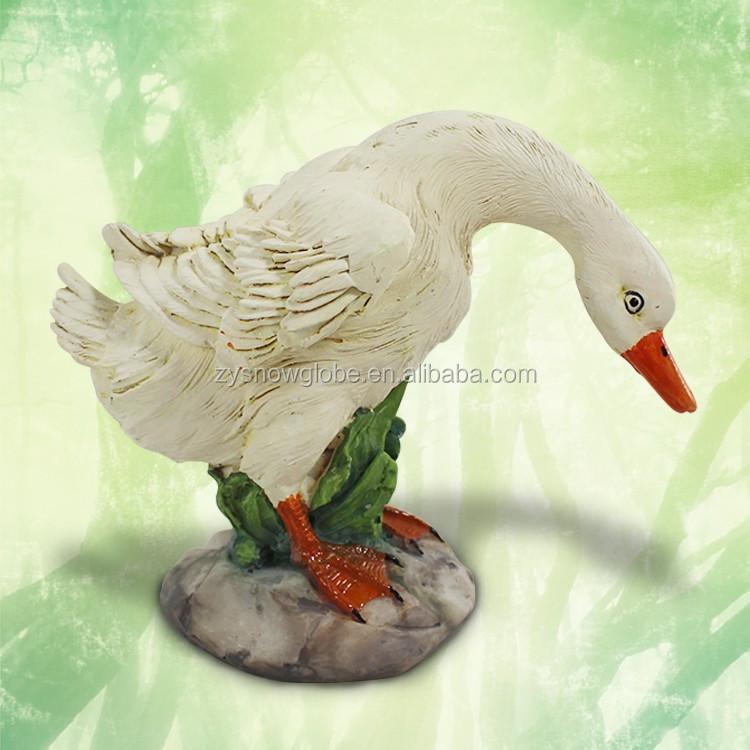 Resin Garden Decor Goose Statue Buy Garden Goose Statue Garden Decor Goose Goose Outdoor