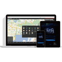 Meitrack gps sms gprs tracker vehicle tracking system with User Friendly Exiperience