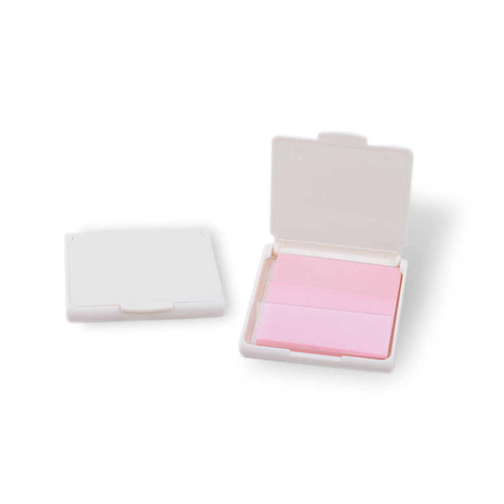 Meidao Pocket mini plastic case water absorbing blotting paper for face