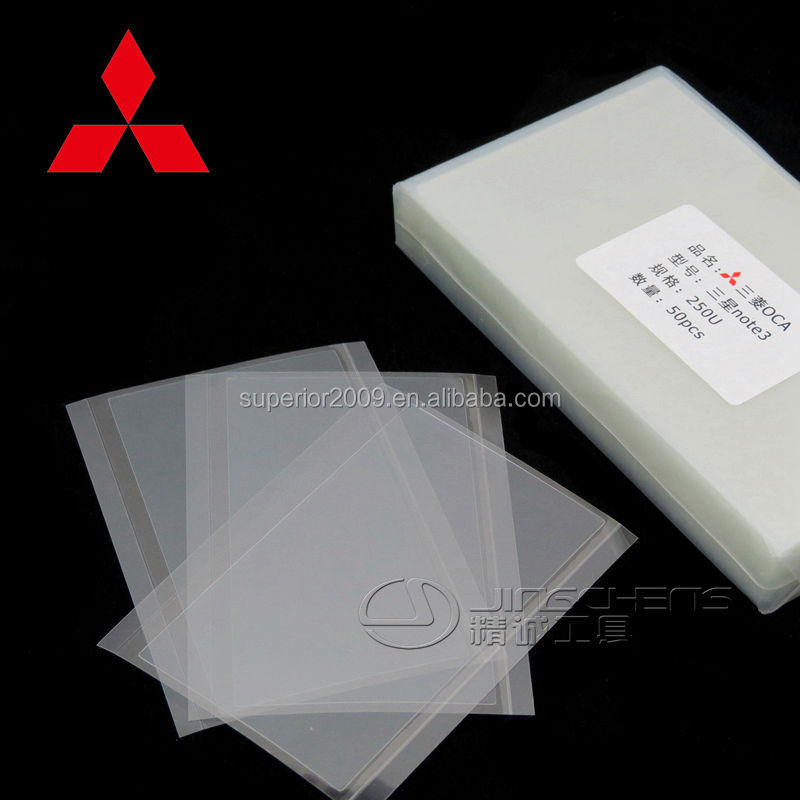 Mitsubishi oca film glue for mobile lcd screen repair all phone apple samsung have