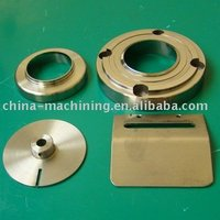 brass material machining components