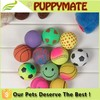 Wholesale Colorful Pet Ball Dog Products Cat Toy Pet Tennis Balls Fetch Throw Chew Dog Balls Toys