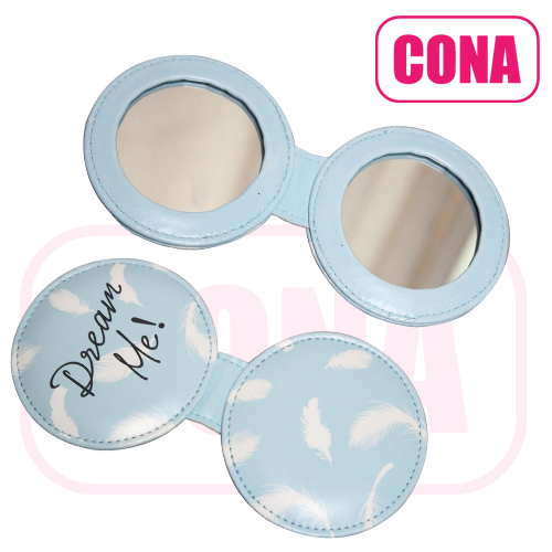 personal care 2 sides makeup pocket mirror