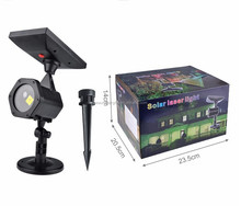 China factory wholesale RG cheap outdoor christmas laser lights Solar powered