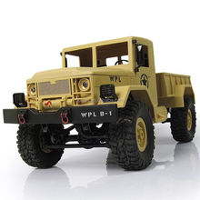 1:16 Remote Control Military Truck 4 Wheel Drive Off-Road RC Car Model Remote Control Climbing Car RTR Gift Toy