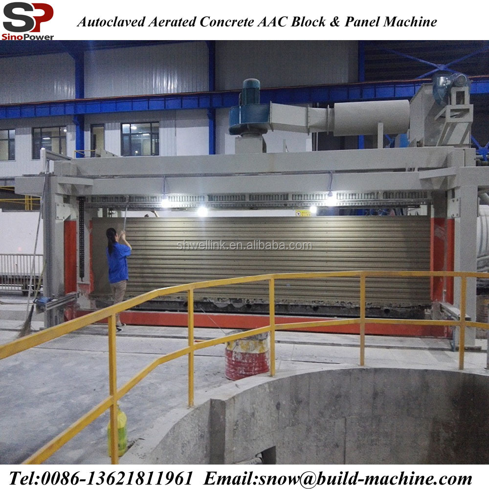 AAC panel production line 20,000-300,000CBM aac block! Hot sale!< sinopower group>