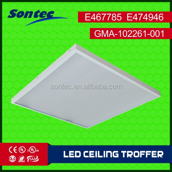 UL Sontec lighting 36W commerical fitting ceiling troffer