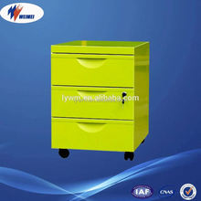 Movable File Cabinet with Wheels for Office Furniture