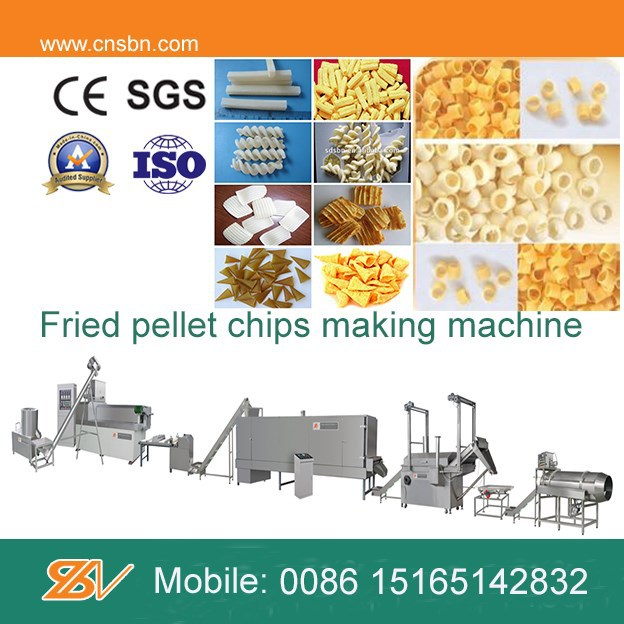 Fully Automatic potato pellet machine/potato starch chips making machine