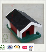 lacquer cheap diy wooden finished wood painting basket bird nest for wholesale