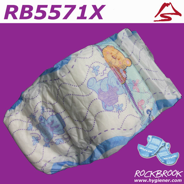 BD1001 Cheap Factory Wholesale Price Disposable Sleepy Baby Diaper Nappy Manufacturer in China
