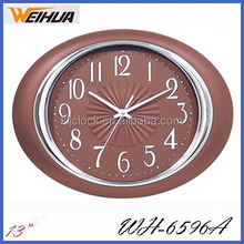 Oval Wall Clock Funny Wall Clocks Design Wall Clock WH-6596