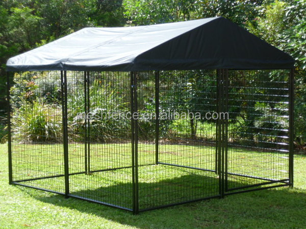 Anping direct supplier decorative dog kennels/ 6ft dog kennel cage/ metal wire dog kennel