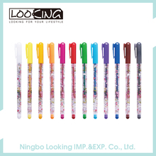 LOOKING Custom Design Fashion Gel Ink Pen Set