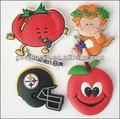 Low quality high quality heart-shaped pvc fridge magnet