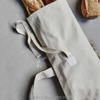 Eco-friendly Organic Food Grade Cotton Rice Bags /Storage Fabric Linen Organic Cotton Bread Bags Personalized