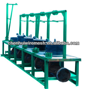 four- section wire drawing machine