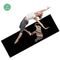 Tapis de sol high-end suede microfiber with natural rubber yoga mat