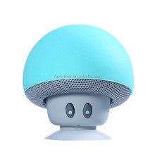 Portable Outdoor Water Resistant mushroom Bluetooth Speaker with Built-In Mic - Retail Packaging