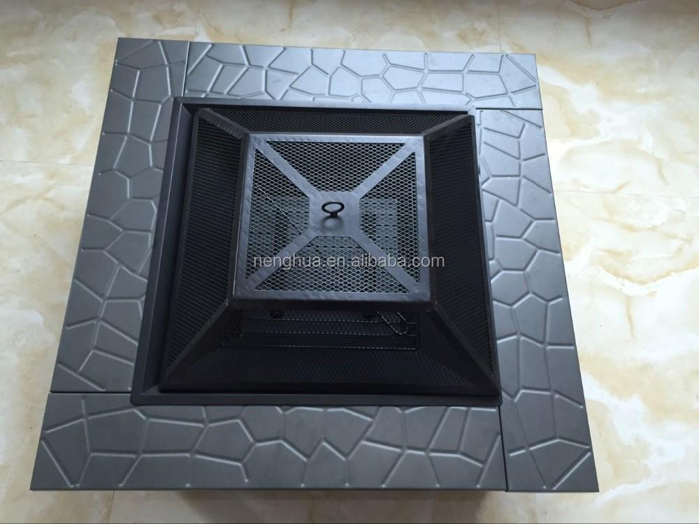 kochen grid holzofen feuerstelle terrasse stein outdoor. Black Bedroom Furniture Sets. Home Design Ideas