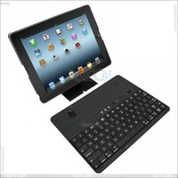 High quality Detachable Bluetooth Keyboard hard Case Cover for iPad 2/ 3 P-iPAD3PCBTHKB001