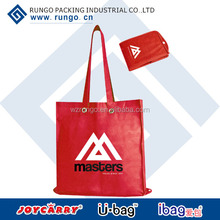 Recycle custom foldable nonwoven shopping bag