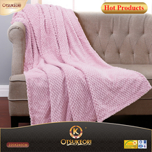 Supet cheap handmade jacquard throw blanket.