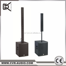 line array speakers active subwoofer powered speakers column system