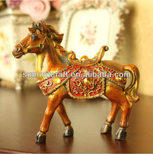 Resin wedding horse decoration giveaway craft