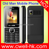 D-Horse D100 Unlocked quad band GSM Big Buttons FM Dual SIM 5 LED Torch all china mobile phone models price list