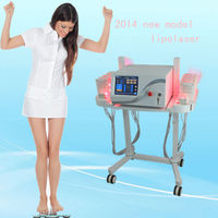 New style stand lipo laser slimming beauty machine / l lipo laser for sale