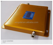 Gold GSM980 900mhz signal booster ,gsm cellular signal amplifier ,GSM980 cell phone signal repeater