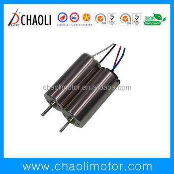8mm micro coreless dc motor CL-0816 for servo electric make-up puff