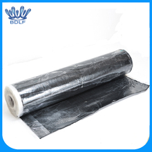 pp/pe synthetic roof underlayment with self-adhesive back
