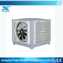 Installing evaporative air conditioning in factory