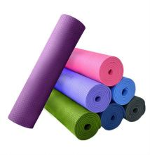 good resiliance Eco Exercise yoga mat with custom design