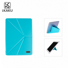 Popular china supplier simple style luxury pu leather tablet flip case stand for ipad air 2 9.7 10.1 inch