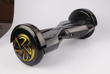 New arrival one pcs 8 inches two wheels self balancing smart electric scooter hover board for kid or adult with light