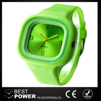 Custom&OEM Logo Colorgul Silicon Watches Kids Watch