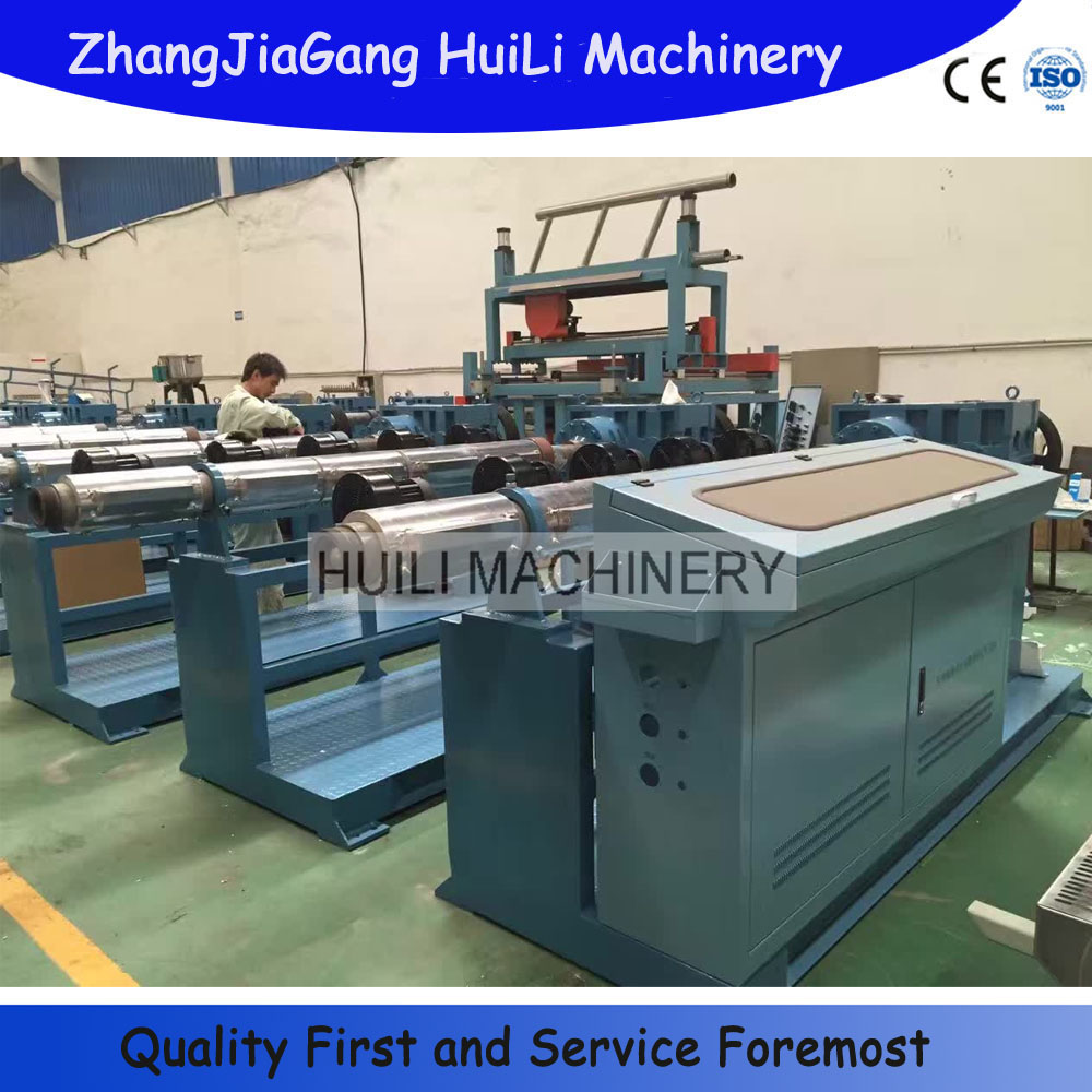 High Quality recyling parallel twin screw extruder for PP.PE.PVC power cable making line
