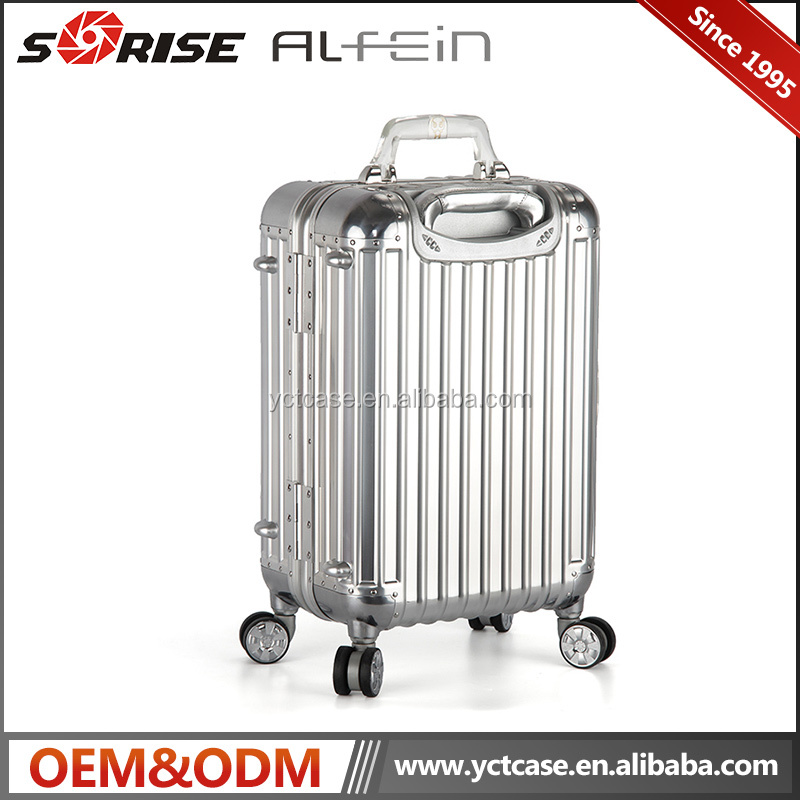 Hot selling trolley luggage case products aluminum luggage case 360 wheel luggage parts