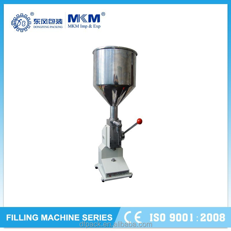Manual Ointment and Liquid Double-duty Filling machine MF-50