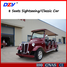 8 Seater electric sightseeing car for passengers transportation for sale